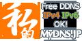 MyDNS.JP 簡単ダイナミックDNSサービス